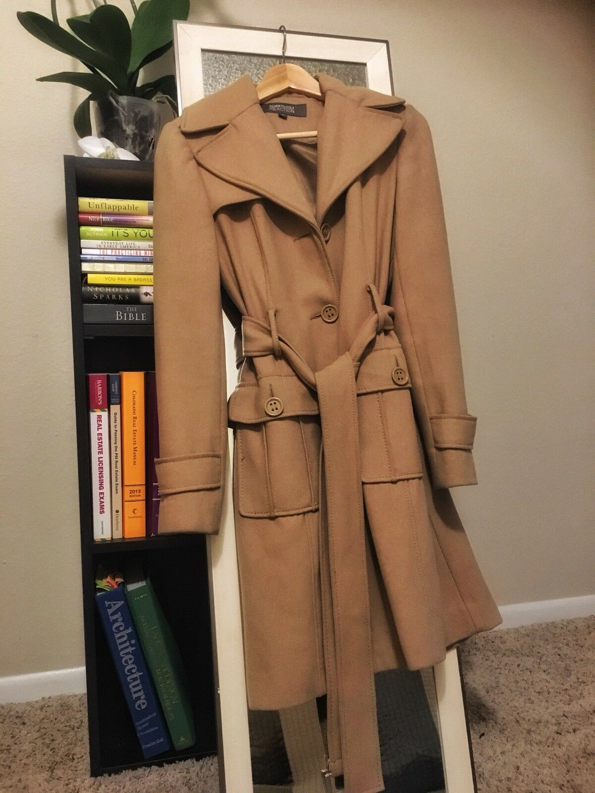 Kenneth Cole trench coat women Small