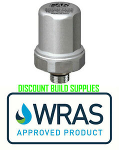 Details about Water Hammer Arrestor WRAS Approved Stop Noisy Pipes for Bath  Basin Taps Toilet