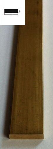 3mm x 2mm x 1000mm Flach-Profil Messing
