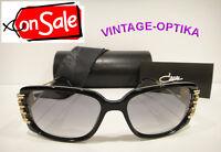 Cazal 8005 Sunglasses Black Gold Authentic on Sale 50% Off