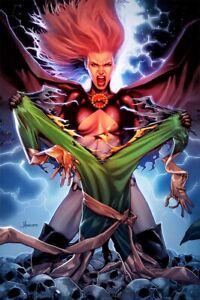 HELLIONS-3-JAY-ANACLETO-Exclusive-Virgin-Green-Variant-X-Men-NM