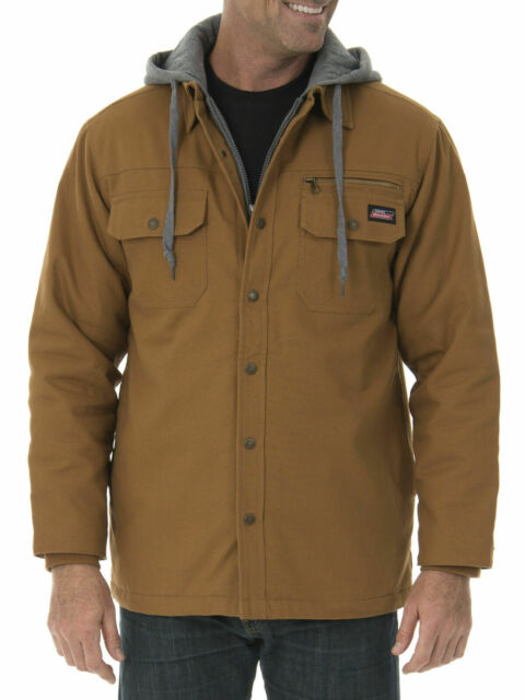 quality and quantity assured new selection choose genuine Big Mens Canvas Shirt Jacket Genuine Dickies 4xl