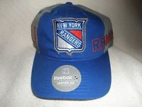 Reebok York Rangers Hat, Nwt's (blue/gray)