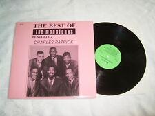 LP - The Monotones & Charles Patrick Best of - US Doo Wop 1987 # cleaned