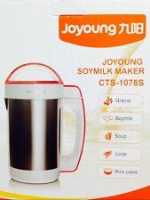 BONUS Pack BRAND NEW Joyoung CTS-1078S Soy Milk Maker 1 Yr USA Warranty Soymilk