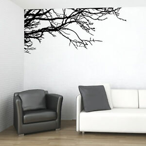 VINYL-WALL-DECAL-STICKER-ART-TREE-TOP-BRANCHES-DECOR