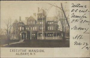 Albany-NY-Executive-Mansion-c1905-Real-Photo-Postcard