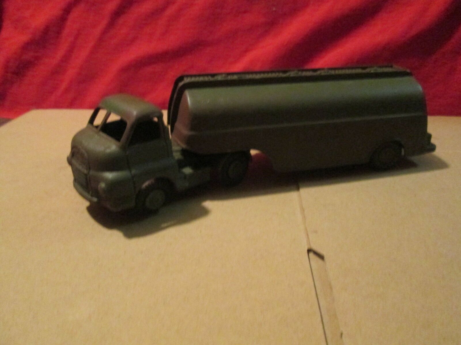 Corgi coe bedford tractor trailer rig unit Army Fuel Tanker about 1 50