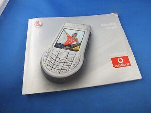 Original Nokia 6630 Anleitung Bedienungsanleitung Benutzerhandbuch Buch Guide