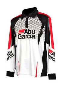 abu garcia tournament fishing shirt jersey new with tags