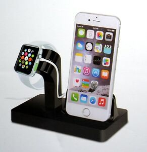 dockingstation apple iphone se 6 6s 7 8 x xs watch usb ladestation laden st nder ebay. Black Bedroom Furniture Sets. Home Design Ideas