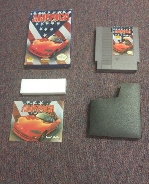 Race America (Nintendo Entertainment System NES, 1992)