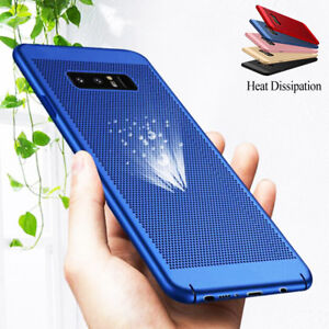 For Samsung Galaxy Note 8 S8 Plus Shockproof Breathable Hollow Light Case Cover