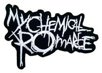 1 X My Chemical Romance Rock Band Logo T Shirts Mm33 Iron On Patches, New, Free