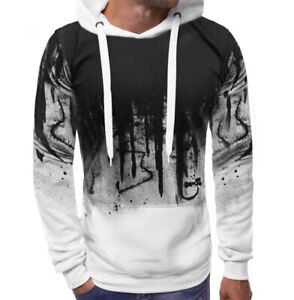Mens-Spring-Long-sleeve-Pullover-Hoodies-Fashion-Hooded-Printing-Tops-Casual-New