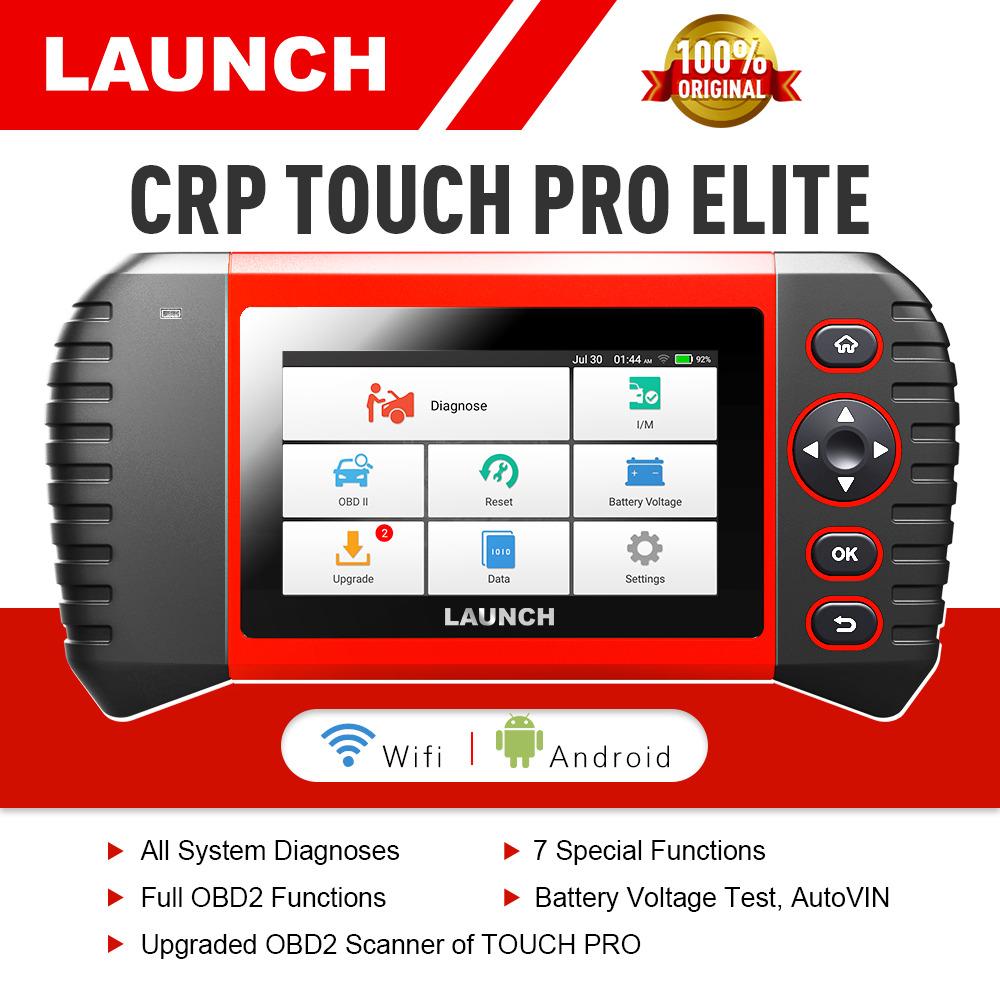 LAUNCH CRP Touch Pro Elite Diagnóstico Herramienta ABS Airbag Código 16 reset