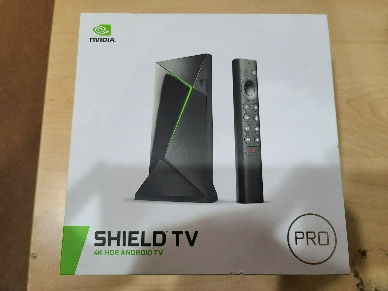 NVIDIA Shield TV Pro 4K UHD Streaming Media Player Unopened Brand New brand media new nvidia player pro shield streaming uhd unopened