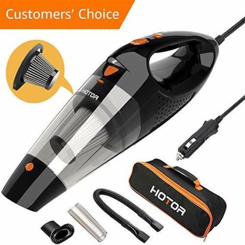 Portable Car Vacuum Cleaner Wet Dry Dirt Dust 12V Handheld Auto Vac