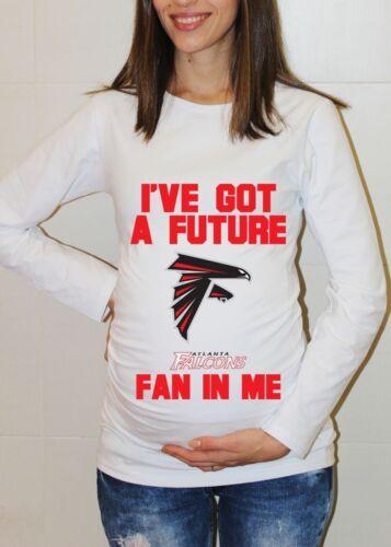 Atlanta Falcons Baby Shirt Baby Shower Football Maternity Shirt Pregnancy Tee