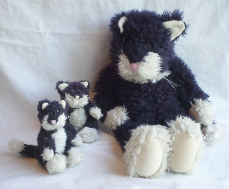 Boyds Bears Old Cat and Kittens Vintage WILL SEPARATE Gettysburg PA 1990 1985-95