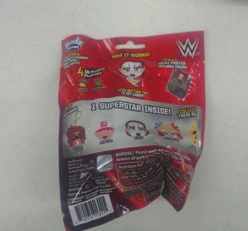 3 in 1 LOT OF 5 Radz Foamz dispenser WWE mini- poster candy