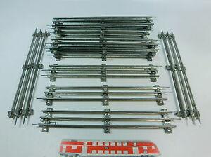 AV30-2# 12x Märklin/Marklin Spur 0 Gleisstück (32 cm) für elektrischen Betrieb