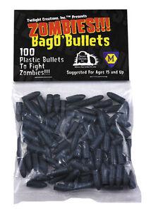 Bag-O-039-Bullets-100-Small-Plastic-Markers-Tokens-Zombies-TLC-2027-Bang-Shotgun