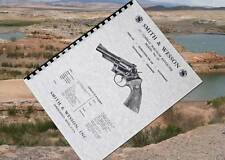 SMITH & WESSON .357 COMBAT MAGNUM Revolver Model 19 Manual