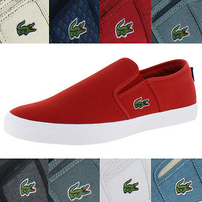 Lacoste Gazon Sport Men's Slip On Sneakers Shoes