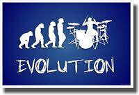 Drummer Evolution 2 - Music Poster