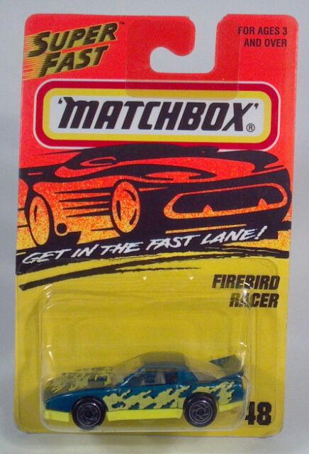 HC Matchbox MB48 Firebird Racer 1:64 S Scale Model 1982 1983 1984 1985 1986 1987