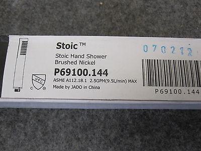 Rational P69100.144 Jado Stoisch Handbrause Gebürsteter Nickel Armaturen
