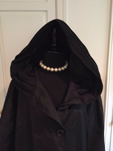 Small Hooded Taille Jacket Ladies Portrait Black PwqIwAExX