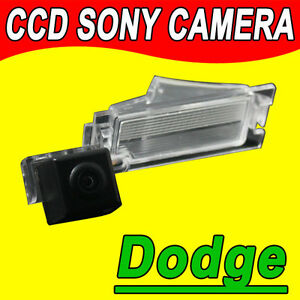 For CCD Dodge caliber car reverse rear view camera GPS radio parking camera auto