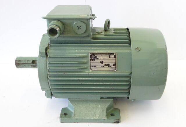 Drehstrommotor MS132S-4 IE2 5,5KW 1500U//min Elektromotor B3 400V