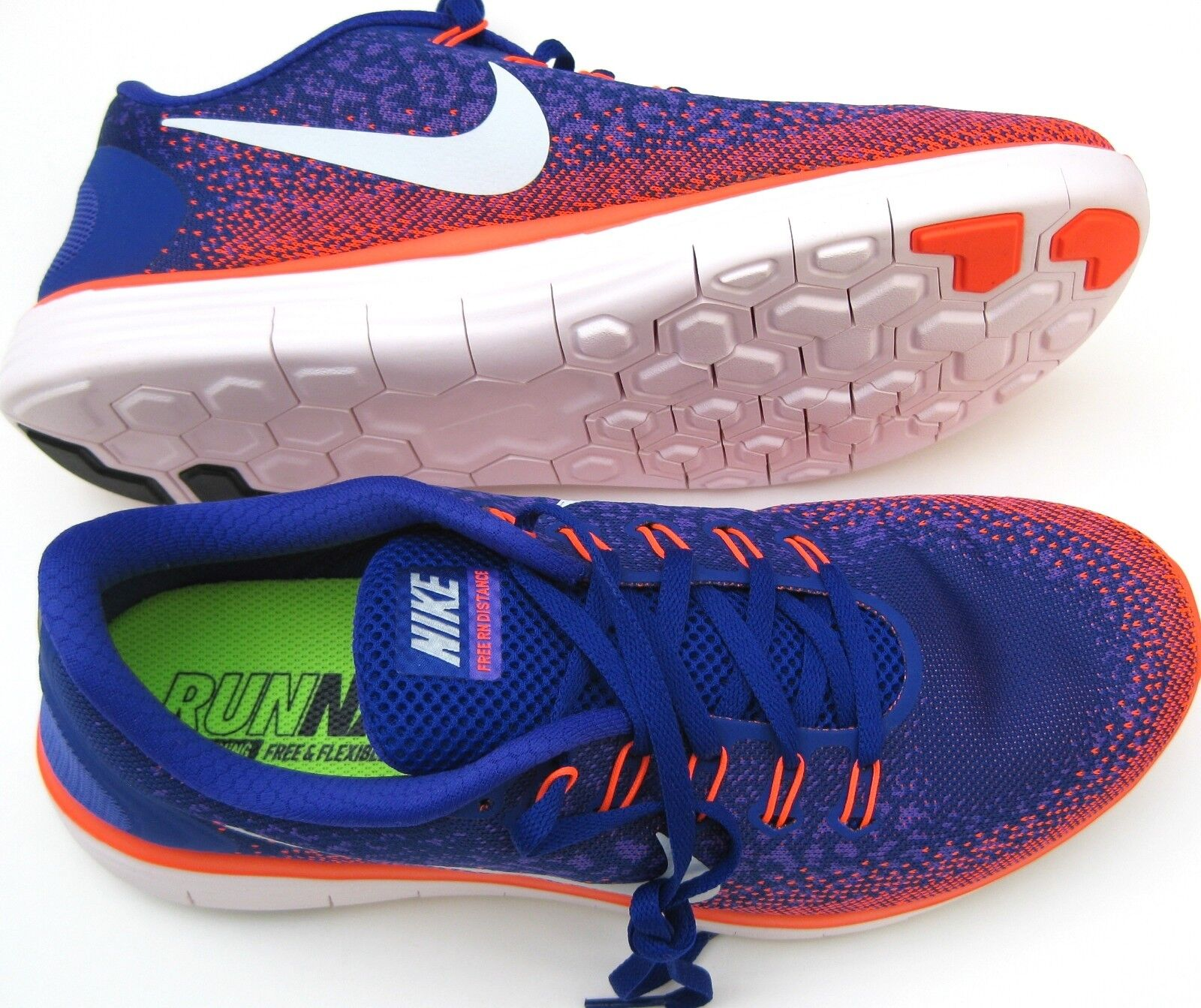 New Nike Free RN Distance 827115 402 Mens Size 9.5/10/11