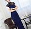 Women-Bodycon-Dress-Cheongsam-Side-Slit-Sexy-Lace-Slim-Dance-Party-Evening-Qipao thumbnail 3