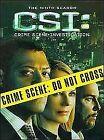 C.S.I. - Crime Scene Investigation - Vegas - Series 9 - Complete (Blu-ray, 2010, Box Set)
