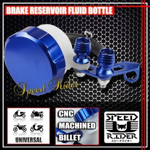 CNC BLUE BRAKE RESERVOIR FRONT FLUID BOTTLE MOTORCYCLE MASTER CYLINDER BRACKET