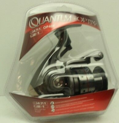 New Quantum Optix Op40f Spinning Reel Optix 40 4 7 1 Gear Ratio Ebay
