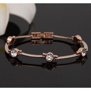 18K Gold Armband Armreif vergoldet Armreifen Armkette Damen Prinzessin Schmuck