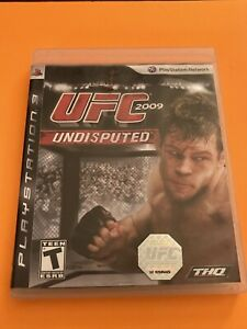 🔥 PS3 PLAYSTATION 3 🔥 💯 COMPLETE WORKING GAME 🔥 UFC UNDISPUTED 2009