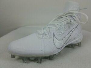 Nike Alpha Huarache 7 Elite Lacrosse Cleats Size 11.5 Men's White CJ0224-106