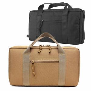Outdoor-Tactical-Pistol-Case-Range-Bag-Carry-Case-Handgun-Magazine-Pouch-Storage