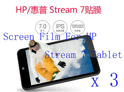 """3 Glossy Matte Screen Protector Guard Film Cover Skin For HP Stream 7 Tablet 7/"""""""