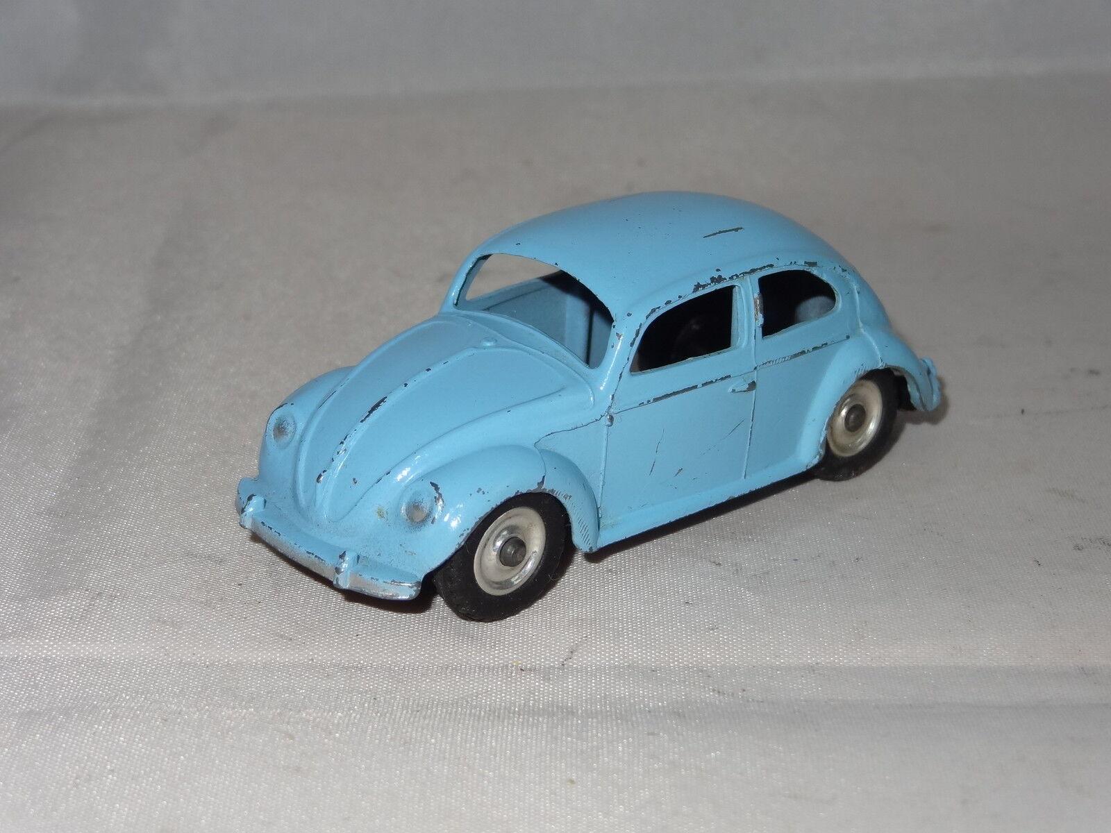 Dinky VW VOLKSWAGEN BEETLE - 181 SPUN HUBS late model