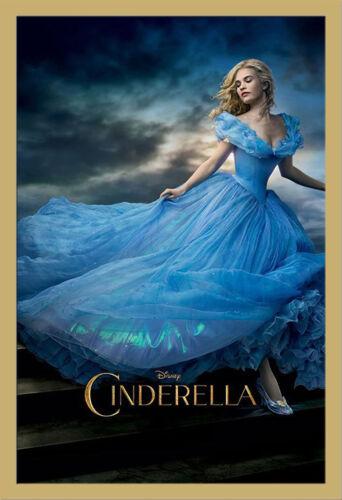 Disney Movie Cinderella Größe 61x91,5 cm Film Poster Plakat Druck
