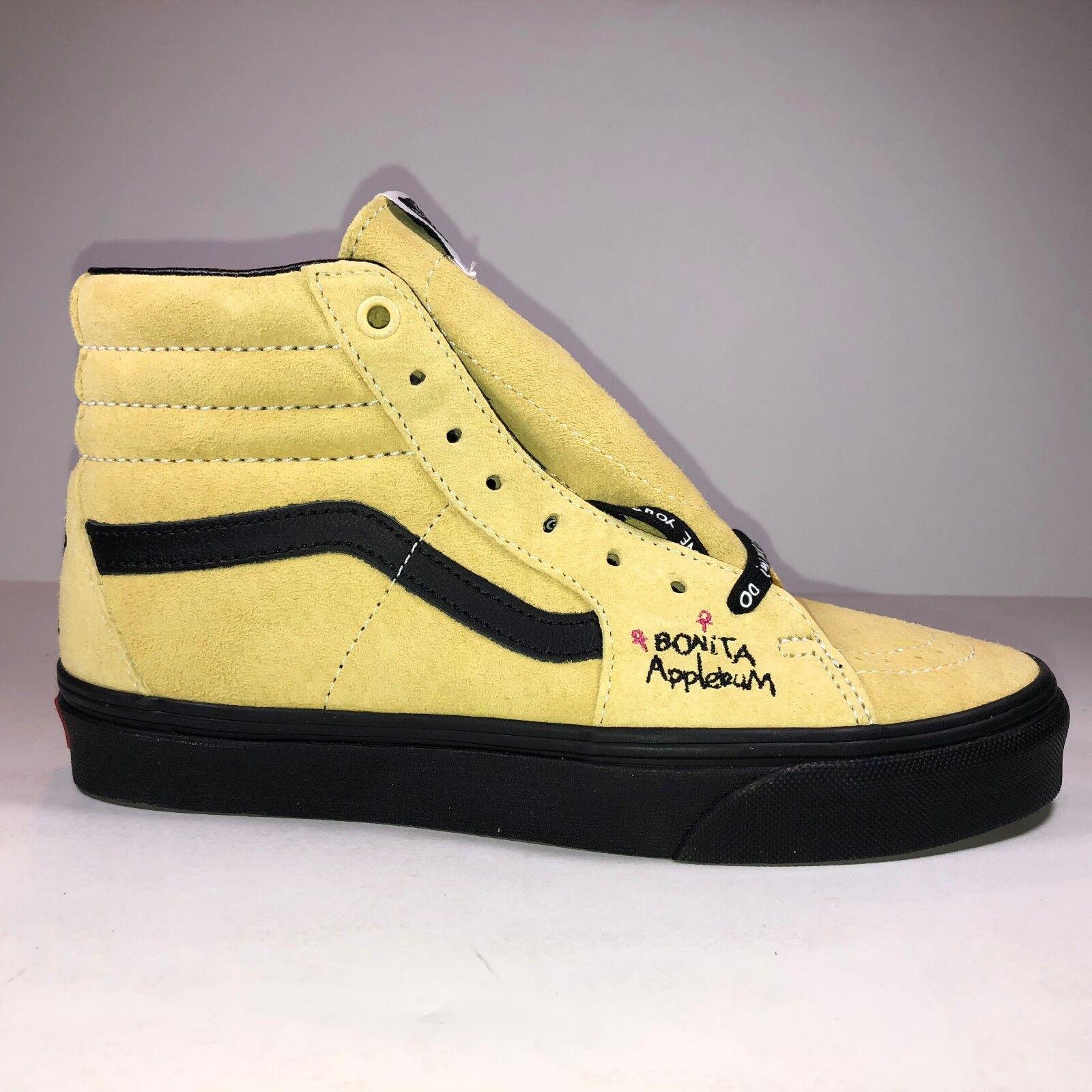 Vans ATCQ Mens Size 4 SK8 Hi Mellow Yellow Bonita Applebum Shoe New VN0A38GER31