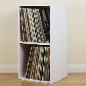Image Is Loading Large White Square LP Vinyl Music Record Storage