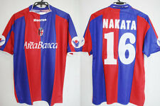 2003-2004 Bologna FC Jersey Shirt Maglia Home Macron Areabanca Nakata #16 L BNWT